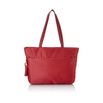 Mandarina Duck Women's Md 20 Messenger Bag, Red (Flame Scarlet), 10x10x10 Centimeters (W x H x L) 並行輸入品