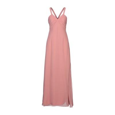 VILA ロングワンピース&ドレス ライトピンク 34 ポリエステル 100% ロングワンピース&ドレス