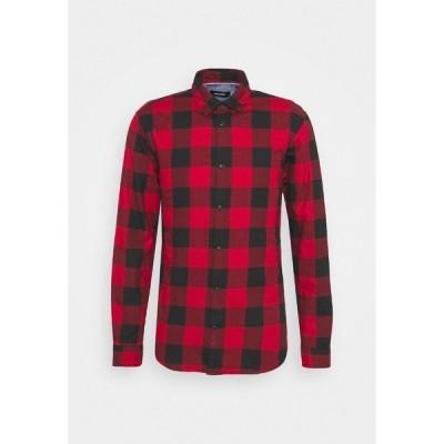 ジャック アンド ジョーンズ シャツ メンズ トップス JJEGINGHAM  - Shirt - brick red