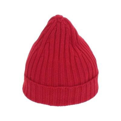SPADALONGA 帽子 レッド one size バージンウール 100% 帽子
