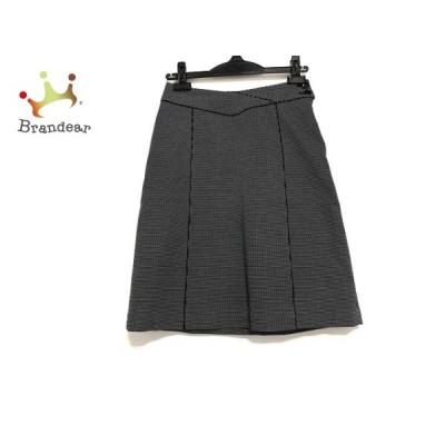 ハムステッド Hampstead スカート サイズ9 M レディース 美品 黒×白     スペシャル特価 20200823