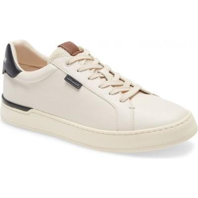 コーチ COACH メンズ スニーカー シューズ・靴 Lowline Sneaker Chalk/Black