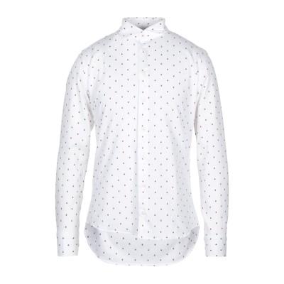 BASTONCINO シャツ ホワイト 38 コットン 100% シャツ