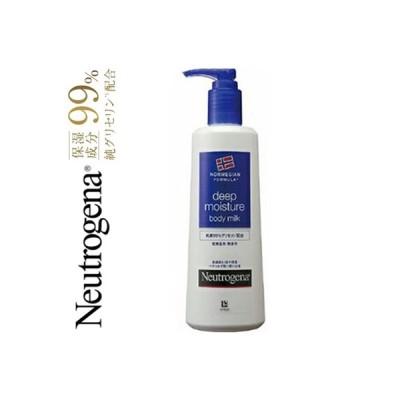 ニュートロジーナ ディープモイスチャー ボディミルク 乾燥肌用(ノルウェーフォーミュラ) 無香料 250mL / ジョンソン・エンド・ジョンソン ニュートロジーナ