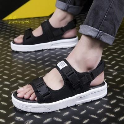 サンダル メンズ ビーチサンダル 2019夏新作 夏サンダル カジュアルシューズ 靴 かっこいい 歩きやすい 大きいサイズ メンズ 痛くない