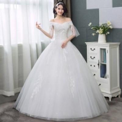 ウエディングドレス 袖あり 白 二次会 aライン  結婚式 ブライダル ウェディングドレス 前撮り 撮影 写真 ウエディングフォト p43