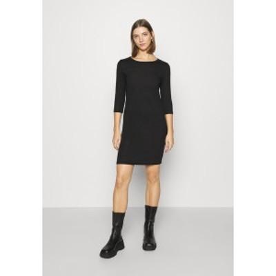 オンリー レディース ワンピース トップス ONLELCOS DRESS - Jumper dress - black black