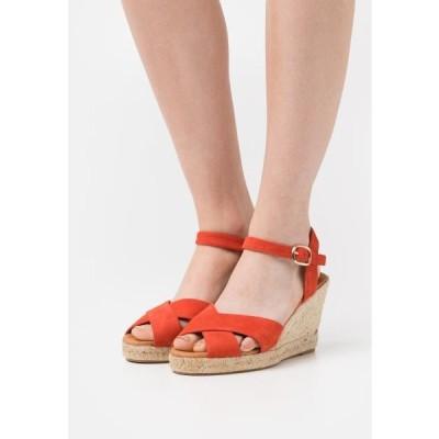 ミネリ レディース サンダル Platform sandals - coquelicot
