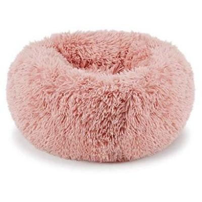 Muswanna ペットベッド ペット用マット ソファ ベッド ぐっすり眠る ふんわり ふわふわ もこもこ 暖かい マット クッション ラウンド型 丸