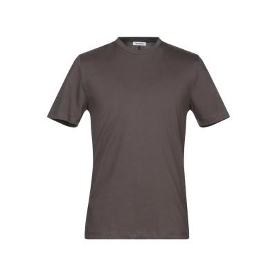 ビッケンバーグ BIKKEMBERGS T シャツ スチールグレー XXL コットン 100% / ポリウレタン T シャツ