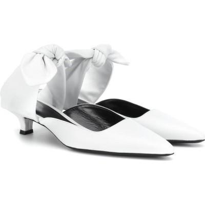 ザ ロウ The Row レディース サンダル・ミュール シューズ・靴 coco leather mules White