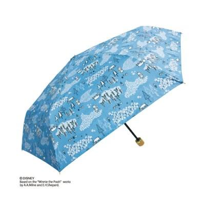 sekizawa 晴雨兼用折傘 / Disney/くまのプーさん BL ブルー