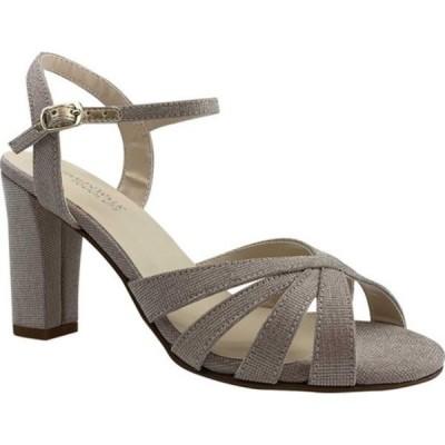 タッチアップ サンダル シューズ レディース Maeve Heeled Sandal (Women's) Champagne Glitter Synthetic