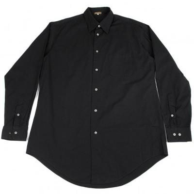 ワイズフォーメンY's for men コットンツイルベーシックシャツ 黒5 【メンズ】