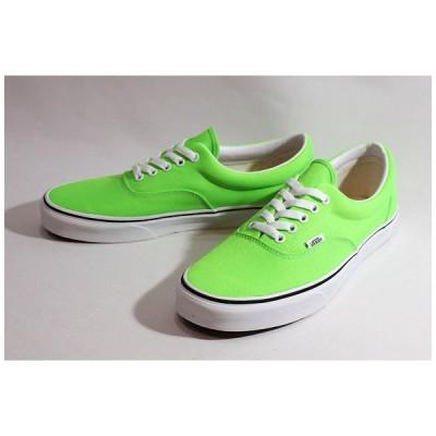 Vansバンズ/20SU/US企画/LIFESTYLE/ERA,エラ/(Neon)GREEN GECKO/TRUE WHITE・ネオングリーン/キャンバス/スケート/スニーカー/メンズ