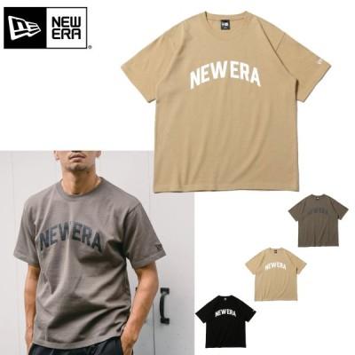 ニューエラ Tシャツ NEW ERA 半袖 コットン Tシャツ ヘビーウェイト アーチロゴ 厚手 メンズ 厚手 レディース ブランドロゴT 12674176 12674178 12674179