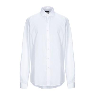 LIU •JO MAN シャツ ホワイト 39 コットン 100% シャツ