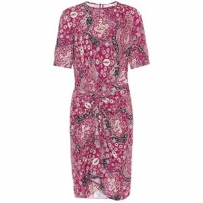 イザベル マラン Isabel Marant. Etoile レディース ワンピース ワンピース・ドレス Bardeny floral dress Fuchsia