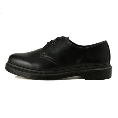 【Dr.Martens】 ドクターマーチン 1461 MONO 3EYE モノ スリーアイレット 14345001 BLACK SMOOTH 3(22cm) ブラック
