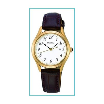 Seiko Neo Classic Quartz White Dial Ladies Watch SUR638【並行輸入品】