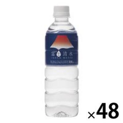 〔送料無料/北海道・沖縄県を除く〕 ミツウロコ 富士清水 JAPAN WATER 500ml ペットボトル 48本 (24本入×2 まとめ買い)