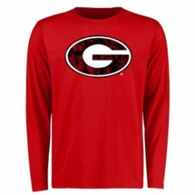 Fanatics Branded ファナティクス ブランド スポーツ用品  Georgia Bulldogs Red Big & Tall Classic Primary Long Sle