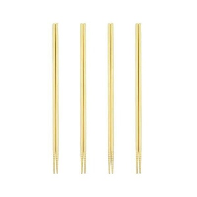 食洗機対応 菜箸 若狭塗 白竹 4膳セット 日本製 取り箸