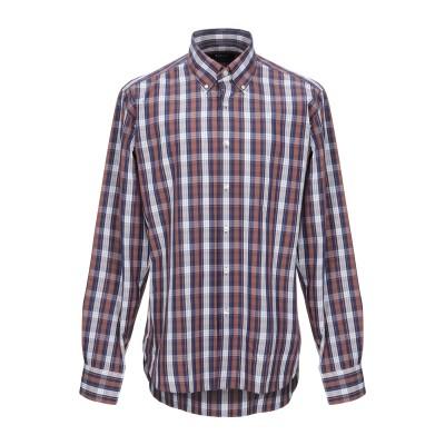TIBER シャツ ブラウン 43 コットン 100% シャツ