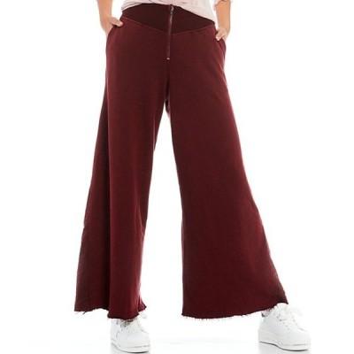 フリーピープル レディース カジュアルパンツ ボトムス FP Movement Borderline Cotton Blend Wide Leg Pants