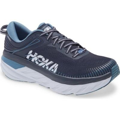 ホカ オネオネ HOKA ONE ONE メンズ ランニング・ウォーキング シューズ・靴 Bondi 7 Running Shoe Ombre Blue/Provincial Blue