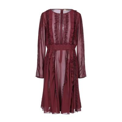 リュー ジョー LIU •JO ミニワンピース&ドレス ボルドー 48 ポリエステル 100% ミニワンピース&ドレス