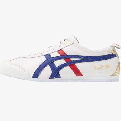 オニツカタイガー メンズ 靴 シューズ MEXICO 66 - Trainers - white/dark blue