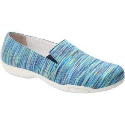 ロスハンマーソン レディース スニーカー シューズ Carmela Slip-On Shoe Blue Multi Textile
