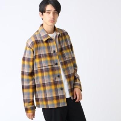 ティーケー タケオキクチ(tk.TAKEO KIKUCHI)/PENDLETON for tk.TAKEO KIKUCHI チェック柄CPOシャツジャケット