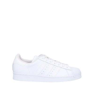 ADIDAS ORIGINALS スニーカー&テニスシューズ(ローカット) ホワイト 3.5 革 / 紡績繊維 スニーカー&テニスシューズ(ローカッ