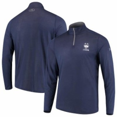 Under Armour アンダー アーマー スポーツ用品  Under Armour UConn Huskies Navy Threadborne Quarter-Zip Jacket