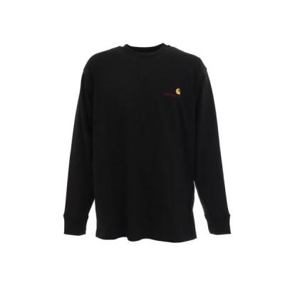 カーハート(CARHARTT) AMERICAN SCRIPT 長袖Tシャツ I025712890020F (メンズ)