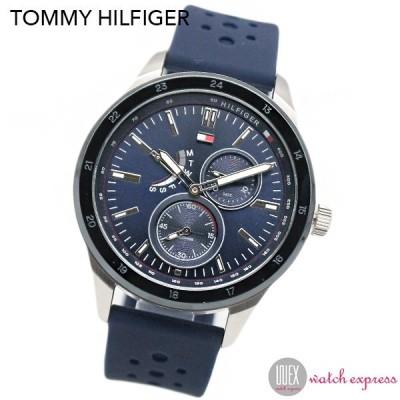 トミーヒルフィガー TOMMY HILFIGER 腕時計 クオーツ 1791635 メンズ ネイビー 時計 トミー