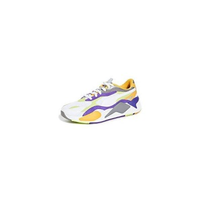 PUMA Select Men's RS-X3 Sneakers, Puma White/Limepunch, 9.5 Medium US