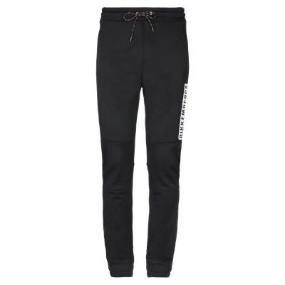 ビッケンバーグ BIKKEMBERGS パンツ ブラック XXL コットン 65% / ナイロン 35% パンツ