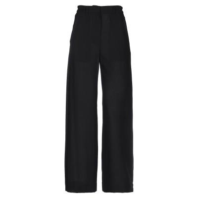 アン ドゥムルメステール ANN DEMEULEMEESTER パンツ ブラック 36 バージンウール 100% パンツ