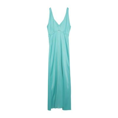 スーベニア SOUVENIR ロングワンピース&ドレス アジュールブルー S レーヨン 100% ロングワンピース&ドレス