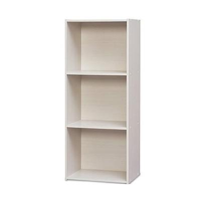 アイリスオーヤマ カラーボックス 3段 A4ファイルが入る 収納ボックス 本棚 幅41.5×奥行29×高さ101.5cm オフホワイト CX