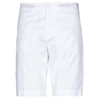 アスペジ ASPESI バミューダパンツ ホワイト 50 コットン 100% バミューダパンツ