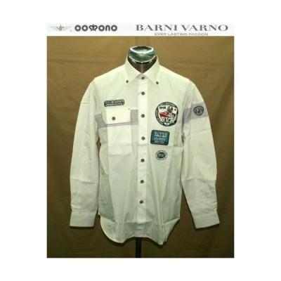 最終特価50%OFF バーニヴァーノ  カジュアルシャツM 2650 BARNI VARNO