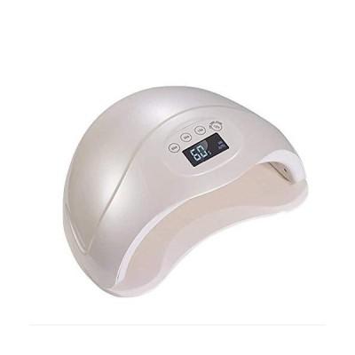 ネイルドライヤー48W UV LEDネイルドライヤー硬化ライトジェルマニキュア4タイマーセットネイルスターターツー