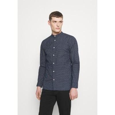 トミー ヒルフィガー メンズ シャツ トップス FLEX DIAMOND DOT  - Shirt - blue blue