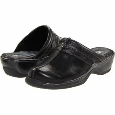 ソフトウォーク SoftWalk レディース クロッグ シューズ・靴 Abby Black