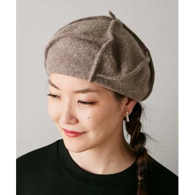 ear PAPILLONNER / 【LE CHAPEAU(ル・シャポー)】ベレー帽 WOMEN 帽子 > ハンチング/ベレー帽
