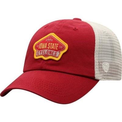 トップオブザワールド メンズ 帽子 アクセサリー Top of the World Men's Iowa Hawkeyes Gritty 1Fit Flex Black Hat